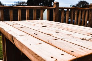 37 lamerton patio table and bench set